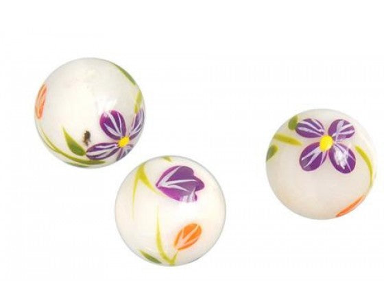 Shell - Beads - Round - 14mm - 2 pieces
