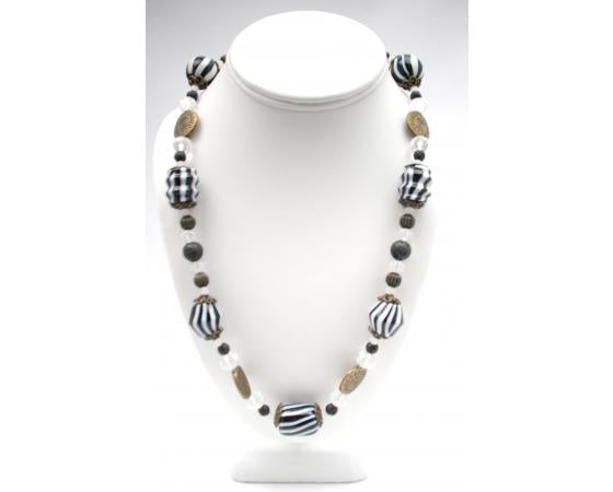 Chunky Necklaces on Tigertail