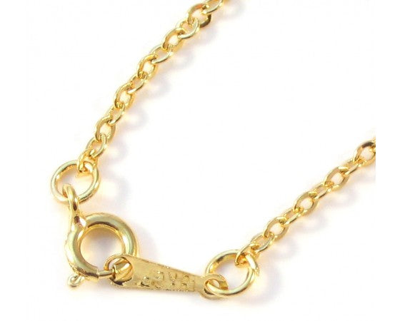 Necklace - Chain - 43cm - 5 pieces