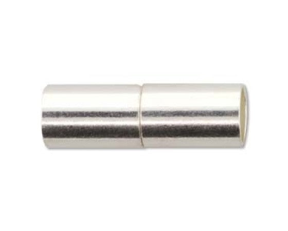 Clasp - Magnetic-Glue In - 22mm x 7mm - Metal - 1 piece