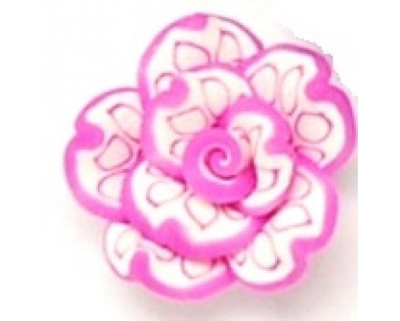 Polymer Clay - Large Flower - 25mm x 15mm - 1 piece