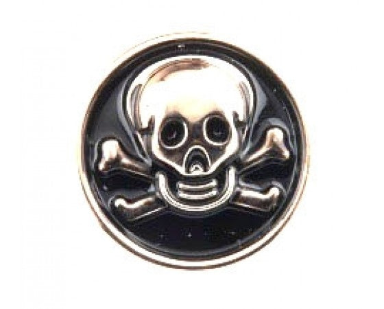 Buttons - Resin - Shank - Skull - 21mm - 10 pieces