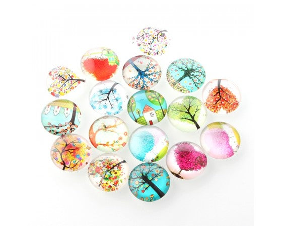Cabochon - Tree of Life - 10 pieces