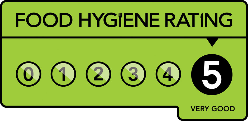 5 - Food Hygiene Rating