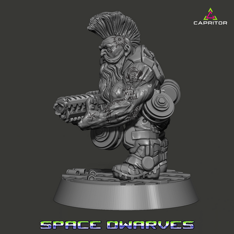 """Space Dwarf Callsign """"Rooster"""""""