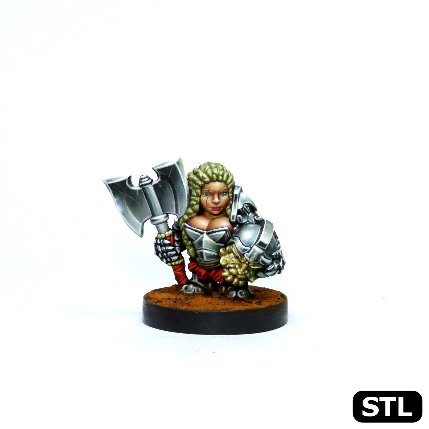 Female Dwarf - 'Hilda Ironclaw'