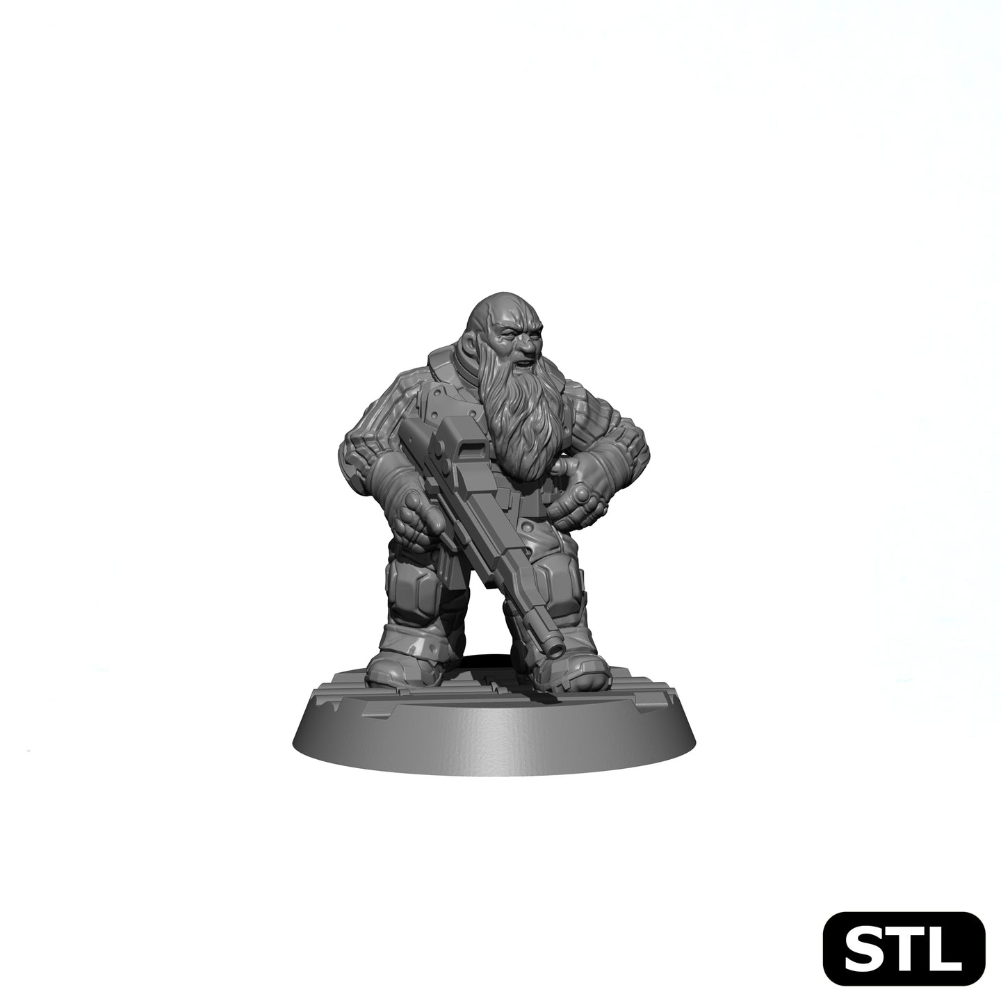 Space Dwarf Rifleman B