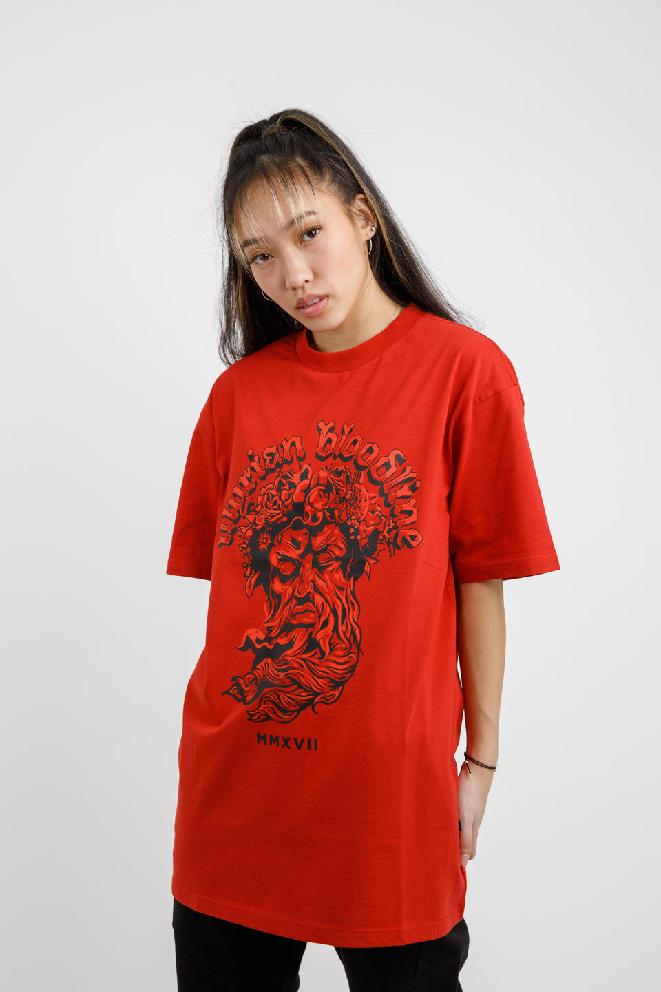 Illyrian God T-shirt - Blood Red