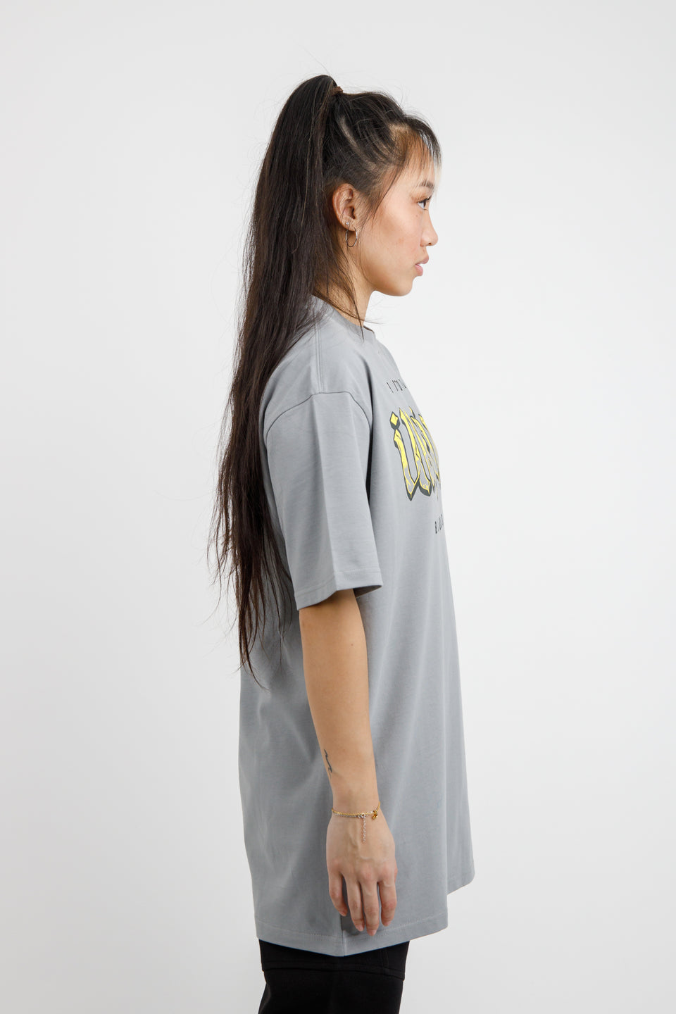 Upside-Down T-shirt – Ultimate Grey