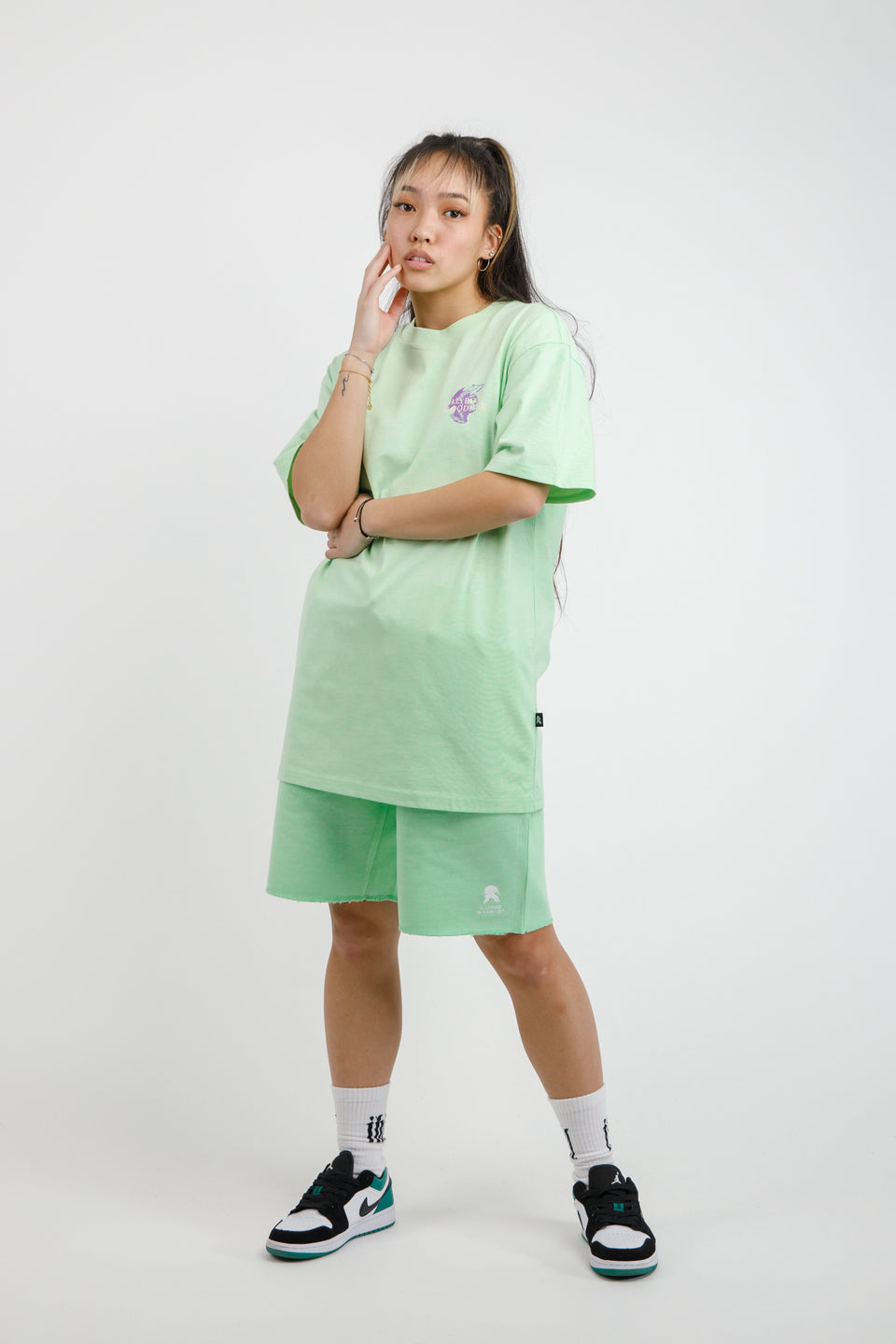 Gent T-shirt - Pastel Green