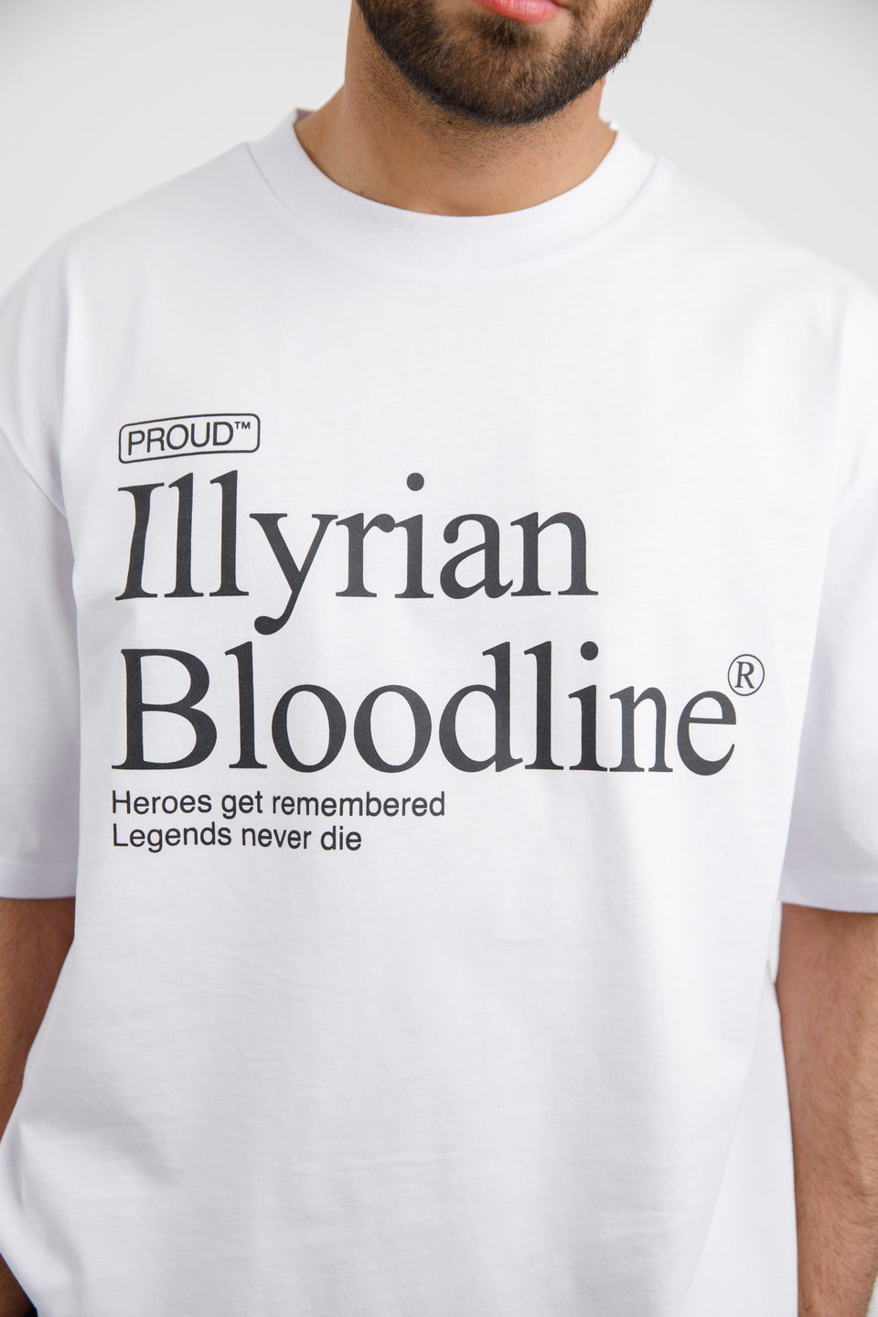 Headline T-shirt - White