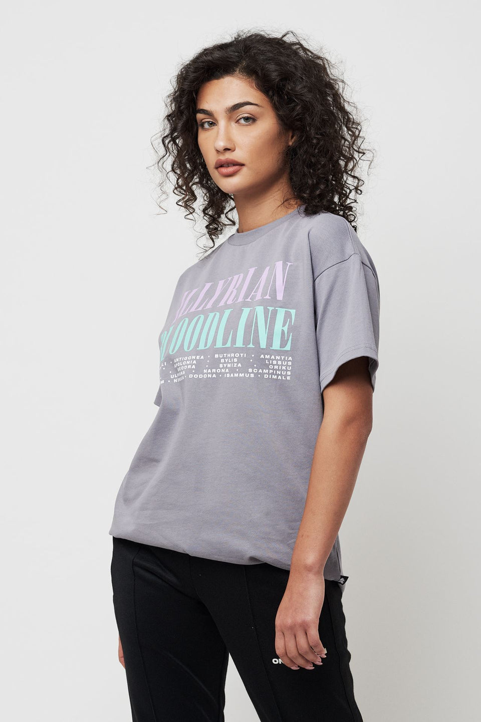 I'll See You In Illyria -  Grey Tee