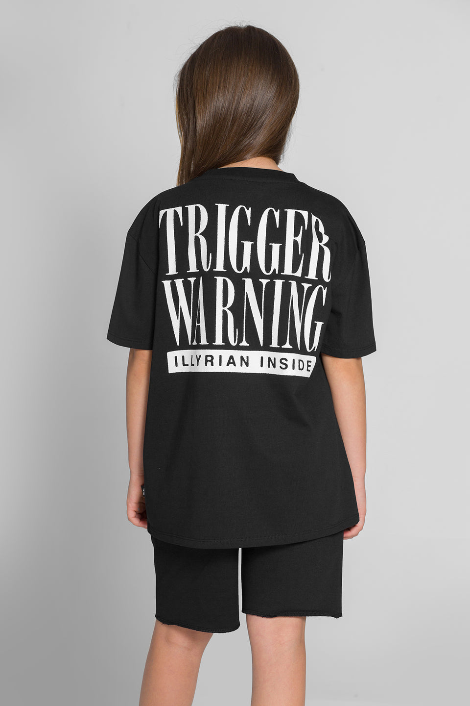 Trigger Warning Illyrian Tee – Black