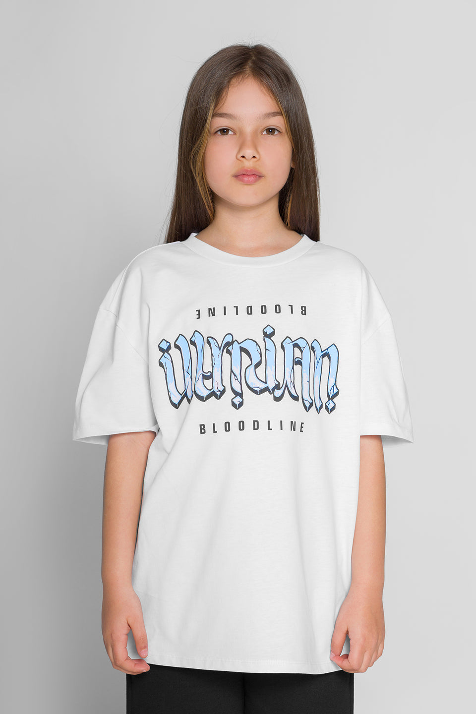 Upside Down T-shirt - White