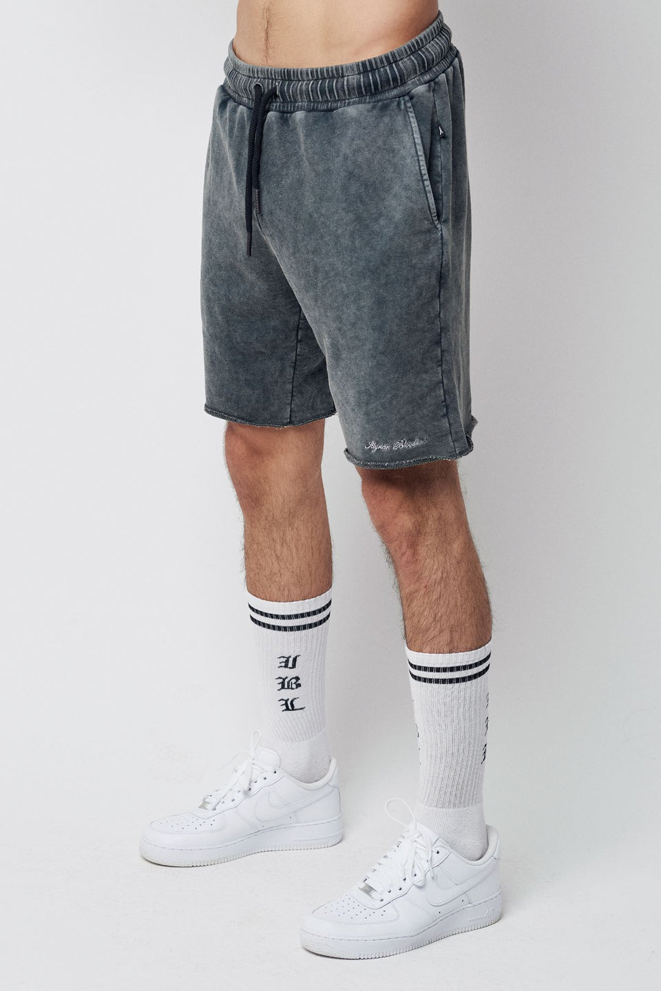 Men's Shorts - Washed Out Black