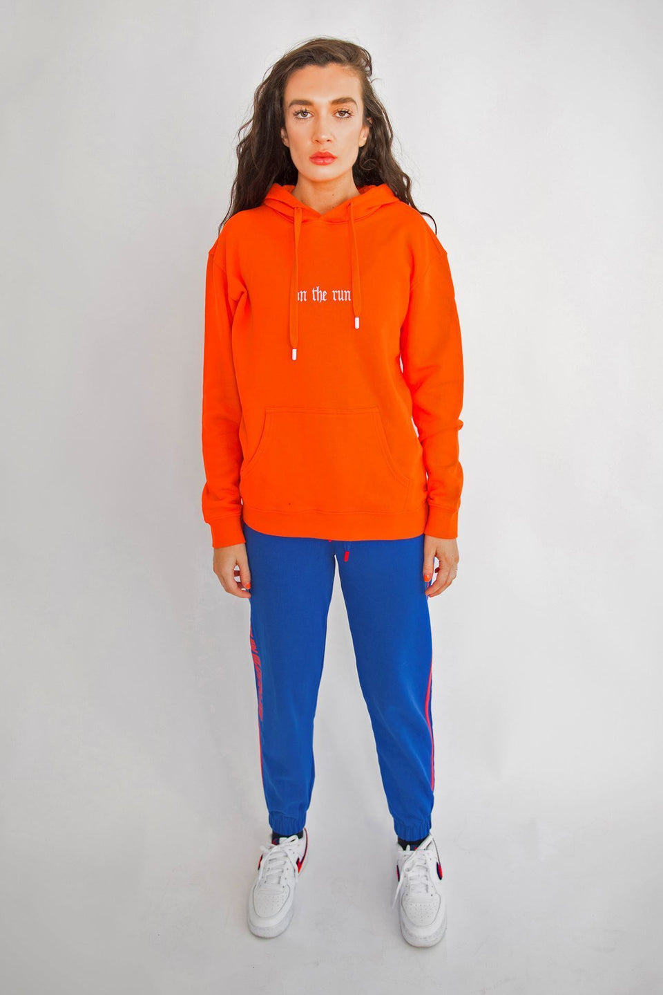Blue Cherry Sweatpants