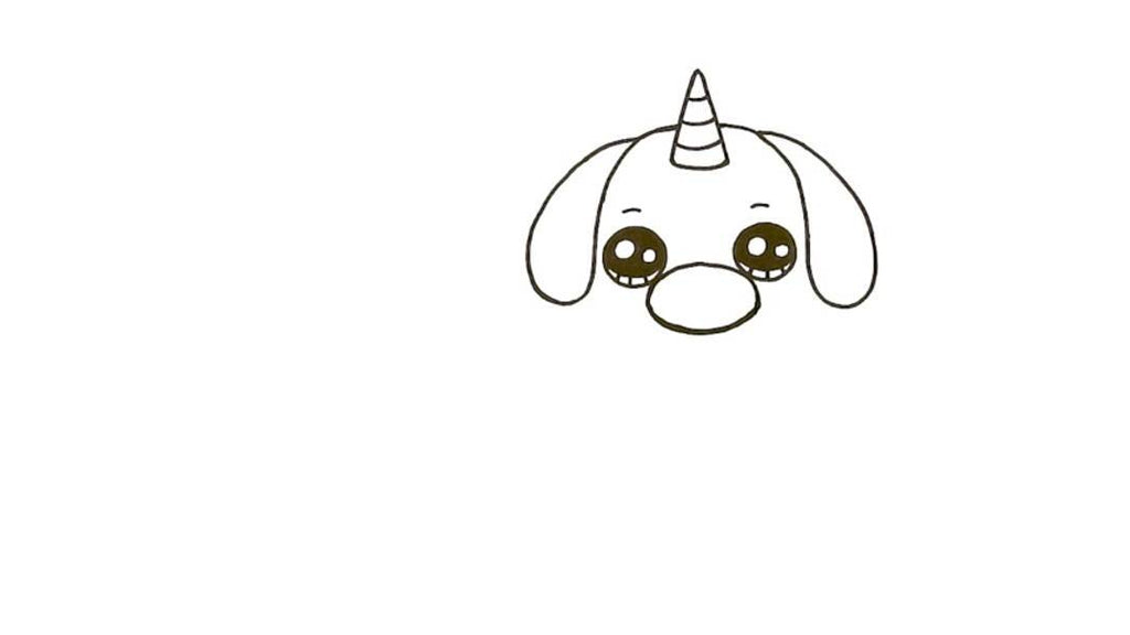 How to Draw a Pugicorn 11