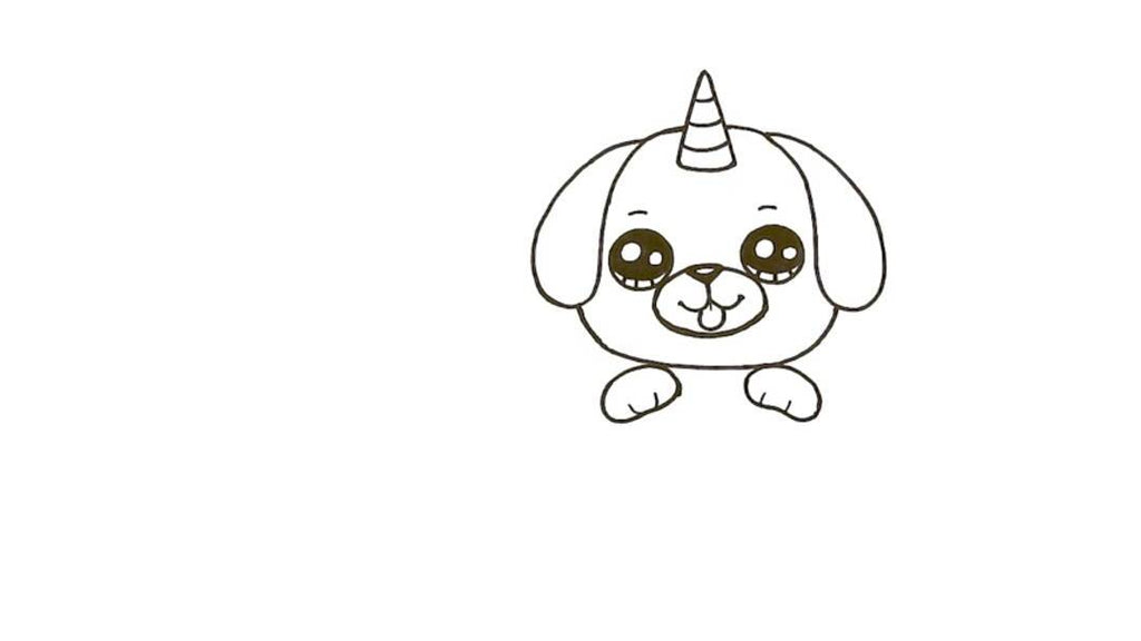 How to Draw a Pugicorn 16