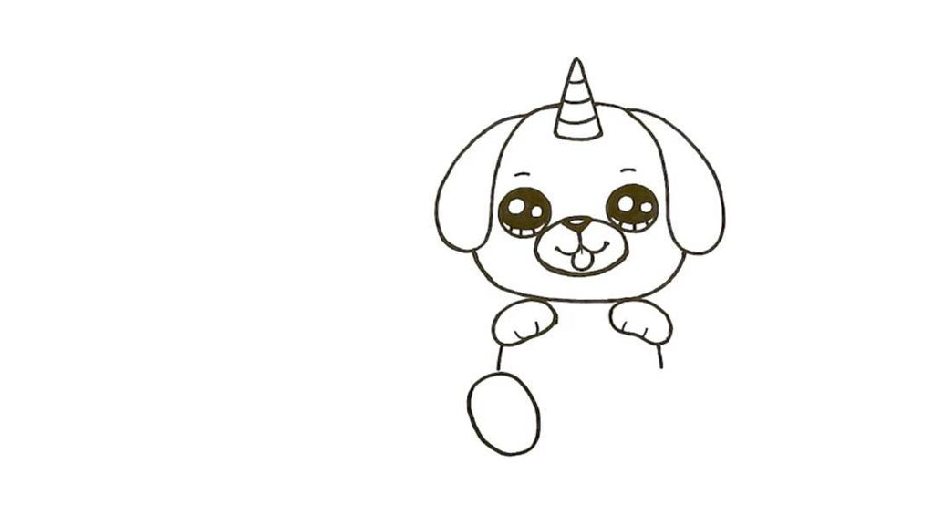 How to Draw a pugicorn 18