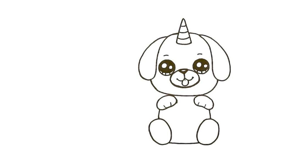 How to Draw a Pugicorn 20