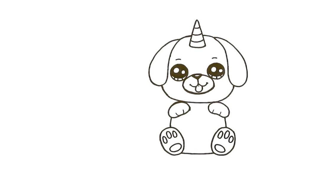How to Draw a Pugicorn 21