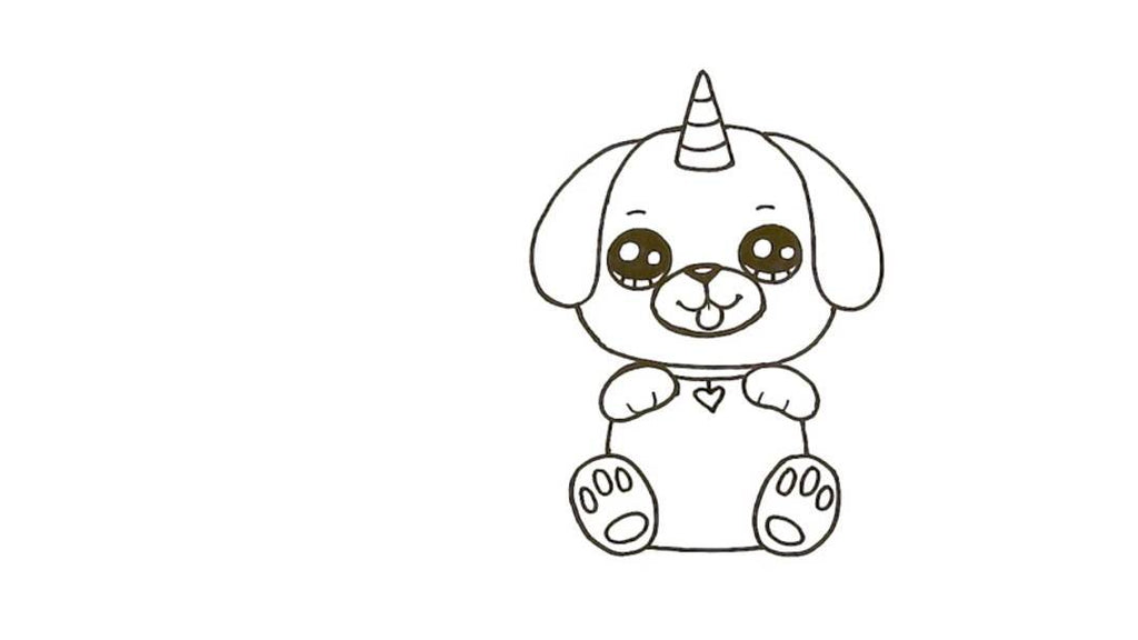 How to Draw a Pugicorn 22