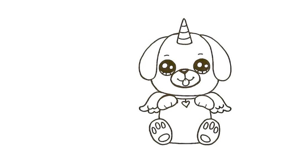 How to Draw a Pugicorn 25