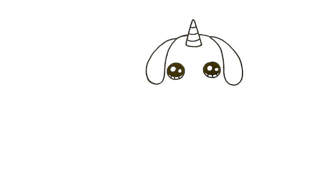 How to Draw a Pugicorn 8