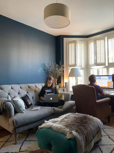 TIPS FOR WORKING FROM HOME WHEN YOUR PARTNER IS TOO!