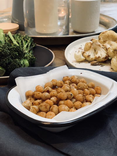 CURRIED ROAST CHICKPEAS