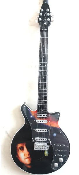 "Brian May Signature ""New Horizons"" Miniature Guitar Replica Collectible"