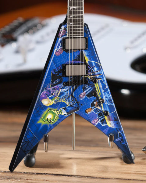 Dave Mustaine Signature V Rust In Peace Mini Guitar - Licensed Megadeth