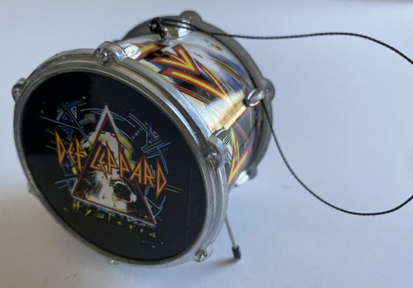 "Def Leppard Drum Ornament 2.5"" Hanging Ornament"