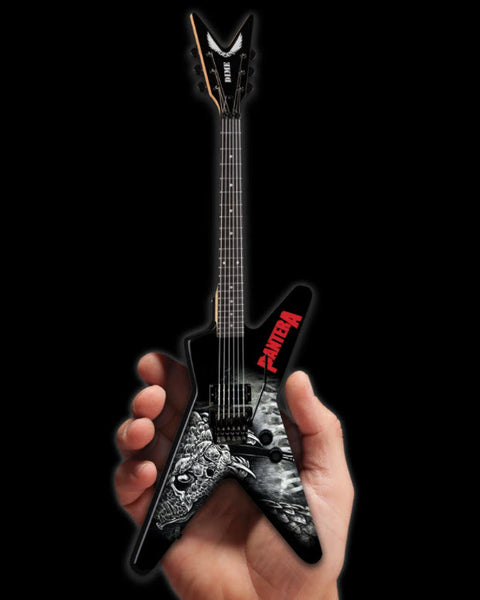 Dimebag Darrell Pantera Black & White Southern Trendkill ML Mini Guitar Model