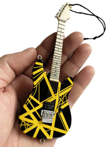 EVH VH2 Bumblebee Guitar Holiday Ornament - 6""