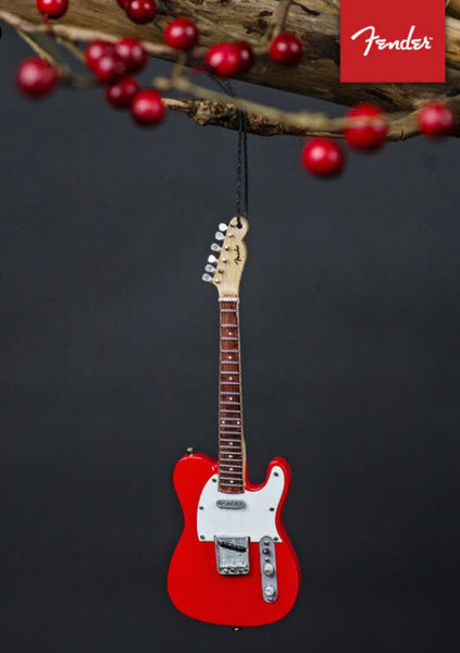 FENDER 50s Red Telecaster Mini Guitar Ornament - 6""