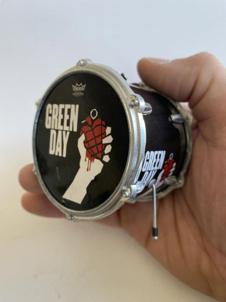 "GREEN DAY Drum Ornament 2.5"" Hanging Ornament"