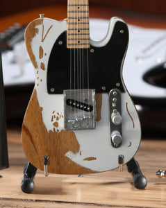 Jeff Beck Relic Fender™ Esquire Custom Shop Tribute Miniature Guitar