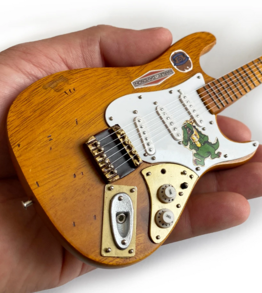 Jerry Garcia™ Alligator™ Graham Nash Tribute Mini Guitar Replica