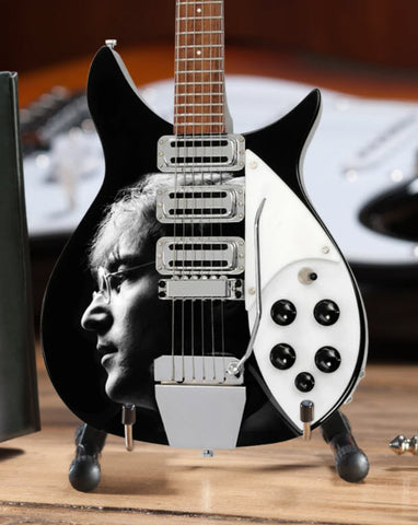 Fab Four Licensed - John Lennon Tribute Mini Guitar - Radio Days