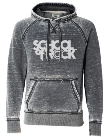 *NEW* - SCHOOL OF ROCK ZEN FLEECE HOODED SWEATSHIRT