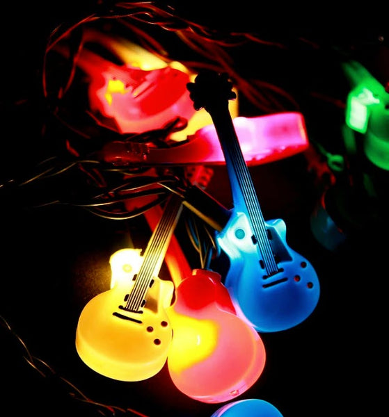 Acoustic Guitar Party Lights