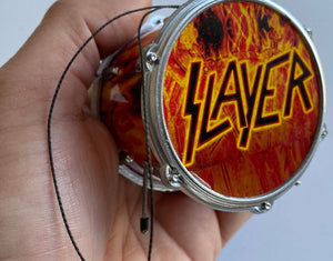 "Slayer Drum Ornament 2.5"" Hanging Ornament"