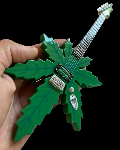 Tommy's Cheech & Chong Sweet Leaf Mary Jane Miniature Guitar Model