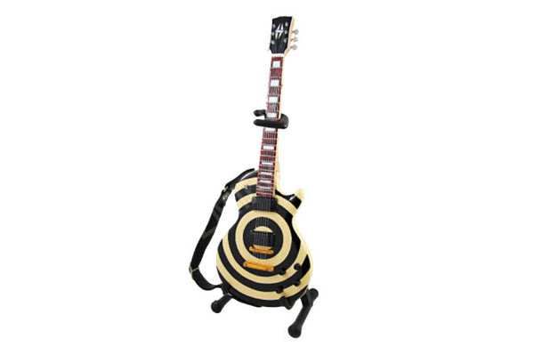 Zakk Wylde Miniature Cream & Black Bullseye