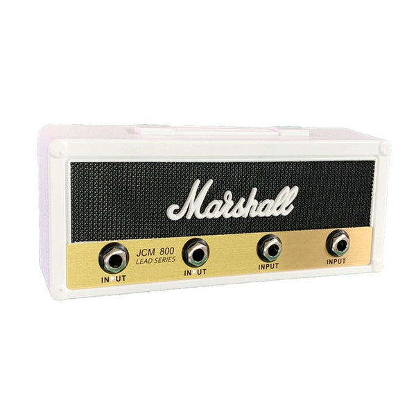 Marshall Guitar Keychain Holder Electric Key Rack Amp Vintage Amplifier Key Storage