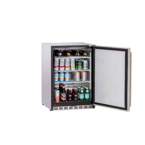 "24"" 5.3c Deluxe Outdoor Rated Refrigerator"