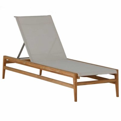 Teak Chaise Lounge - Coast