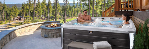 The Crown Summit Hot Tub
