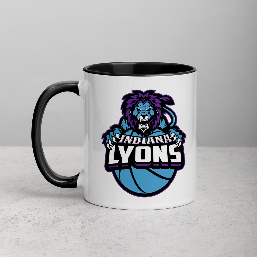 Indiana Lyons Mug with Color Inside